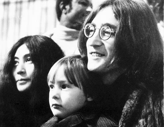 John, Yoko, and Sean
